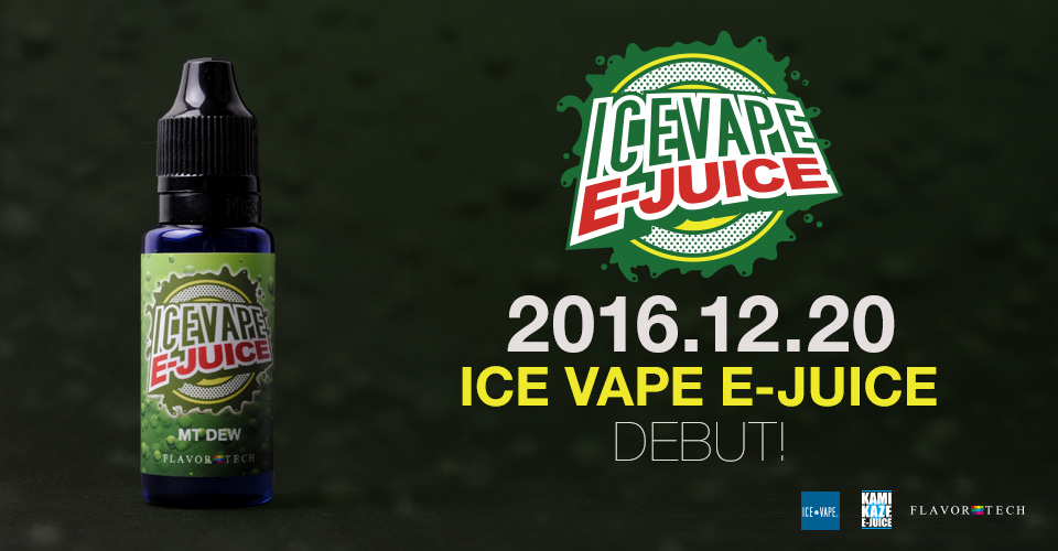 ICE VAPE E-JUICE MT DEW